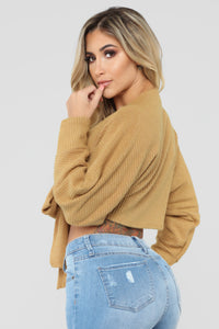 Pretty Little Lies Sweater - Mustard