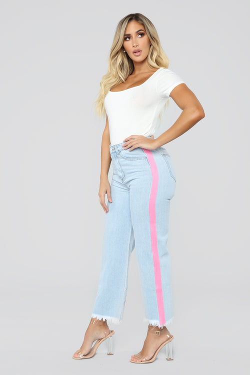 Ashley High Rise Jeans - Light Blue Wash