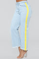 Mary Kate High Rise Jeans - Light Blue Wash