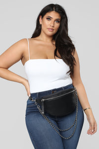 Chained My Ways Fanny Pack - Black