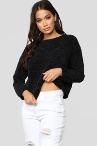 Zaccai Knit Sweater - Black