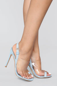 Too Cool For You Heeled Sandal - Blue