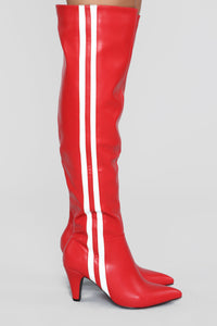 Baddy Boot - Red
