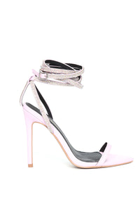 All About That Sass Heeled Sandal - Lilac