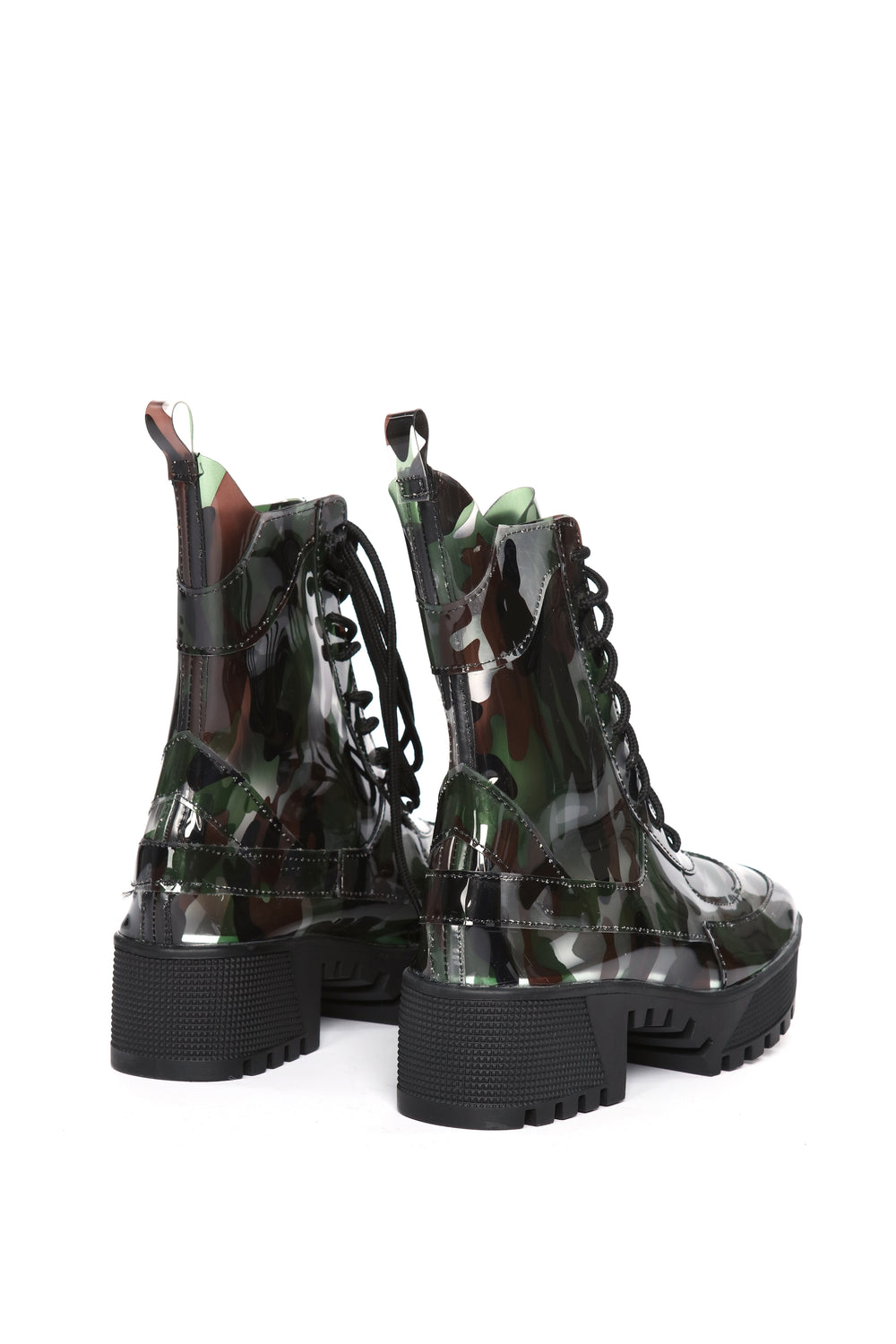 Don't Touch Me Bootie - Camo