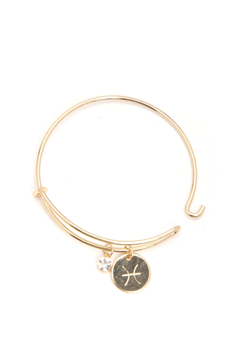 Pieces Please Sign Here Bracelet - Gold