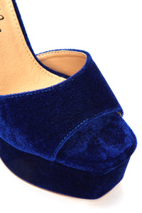 I Know I Can Heel - Blue Velvet