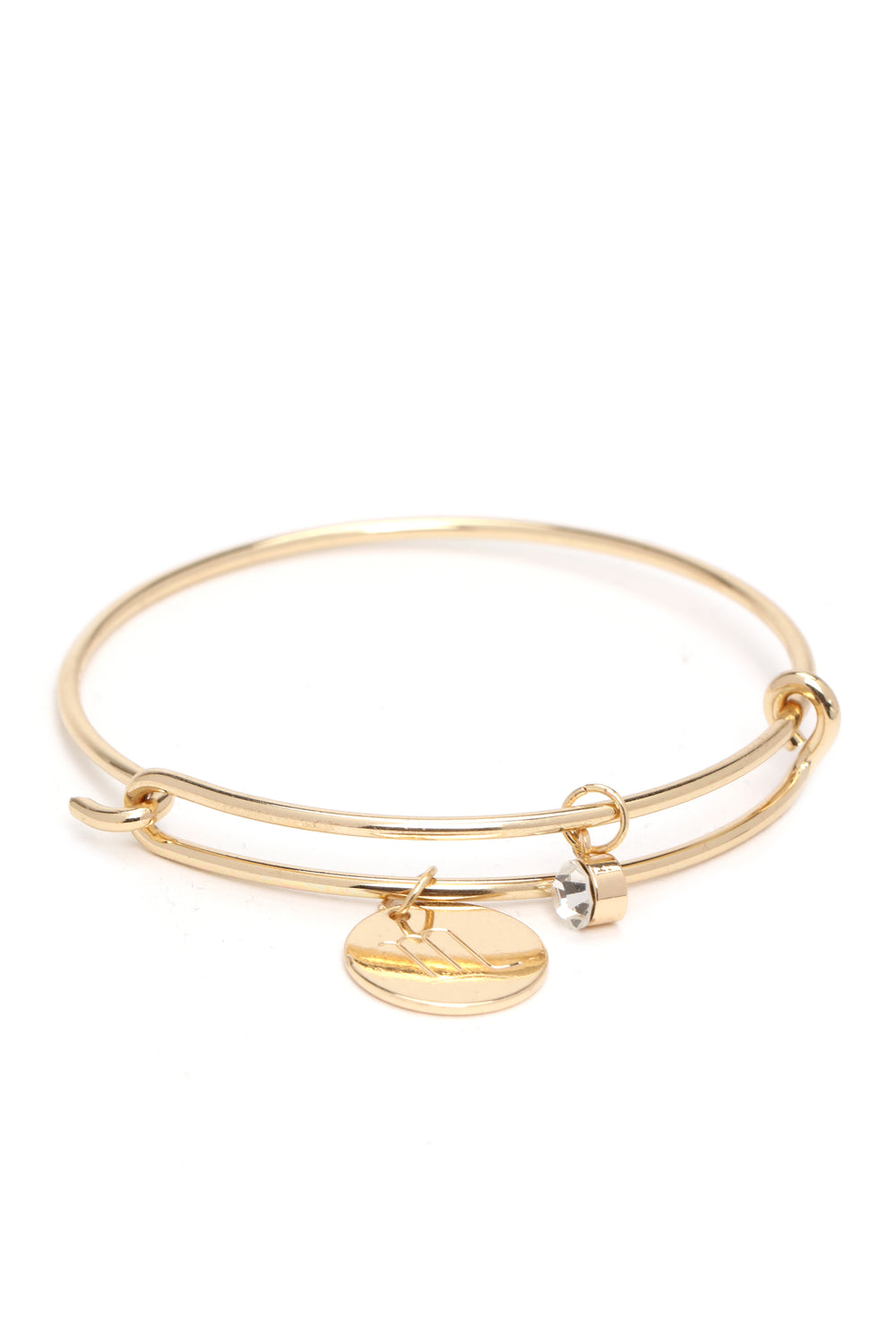 Scorpio Please Sign Here Bracelet - Gold