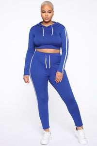 Tennis Courts II Set - Royal Blue