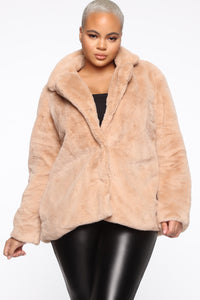Highly Classified Queen Jacket - Taupe Angle 1