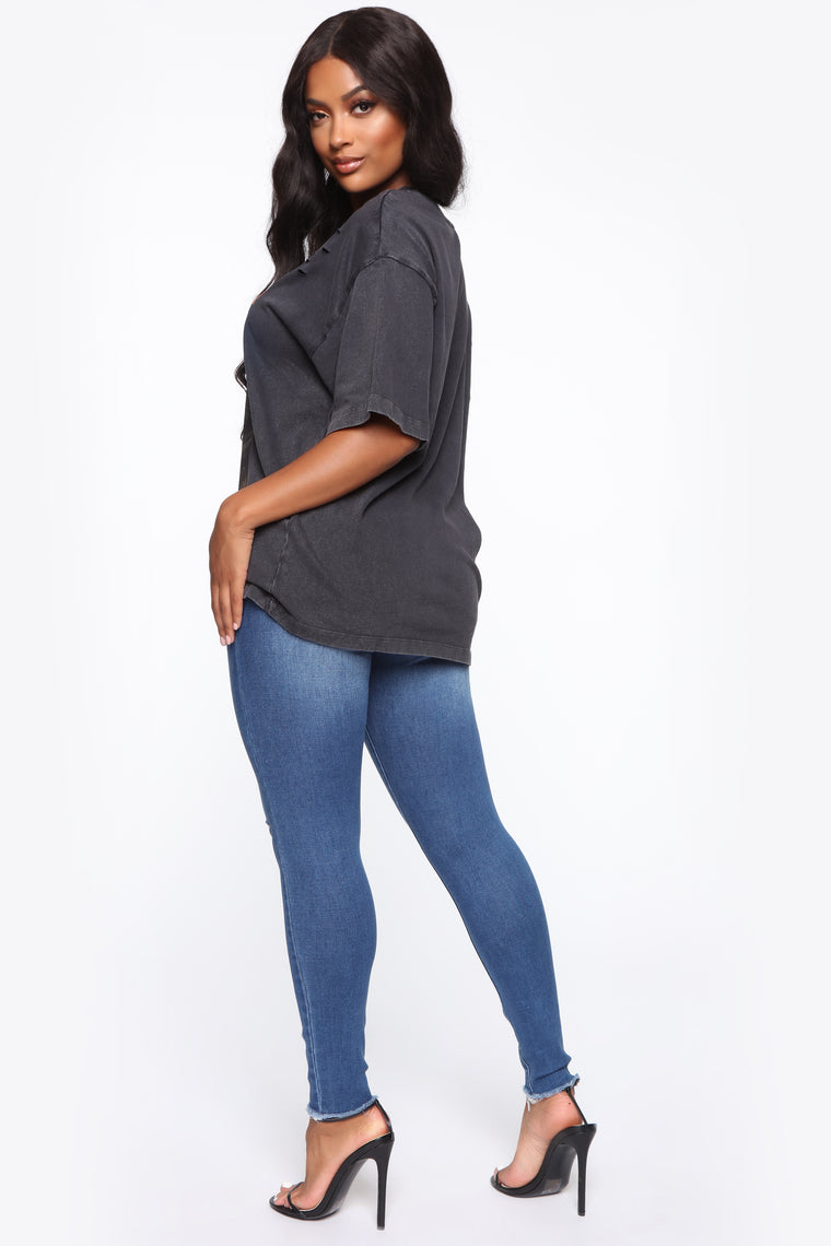 Greatest Love Of All Skinny Jeans - Medium Blue Wash