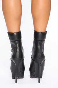 Blow Your Mind Booties - Black
