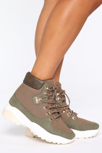 First Instinct Bootie - Khaki