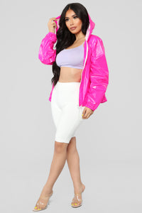 Need Your Attention Jacket - Hot Pink