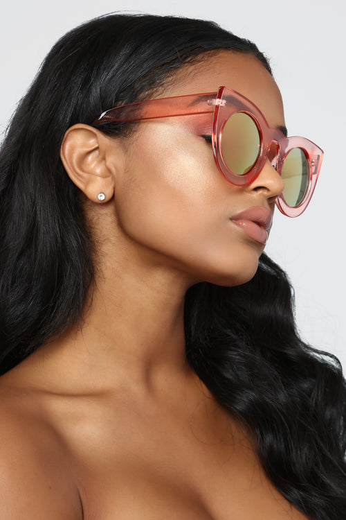 Why So Catty Sunglasses - Pink