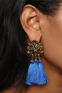Island Times Earrings - Royal