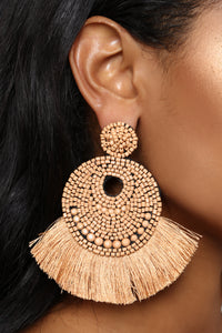 Can You Bead That Earrings - Natural