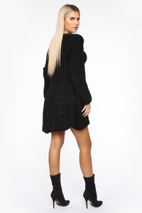 Say It Again Cardigan - Black