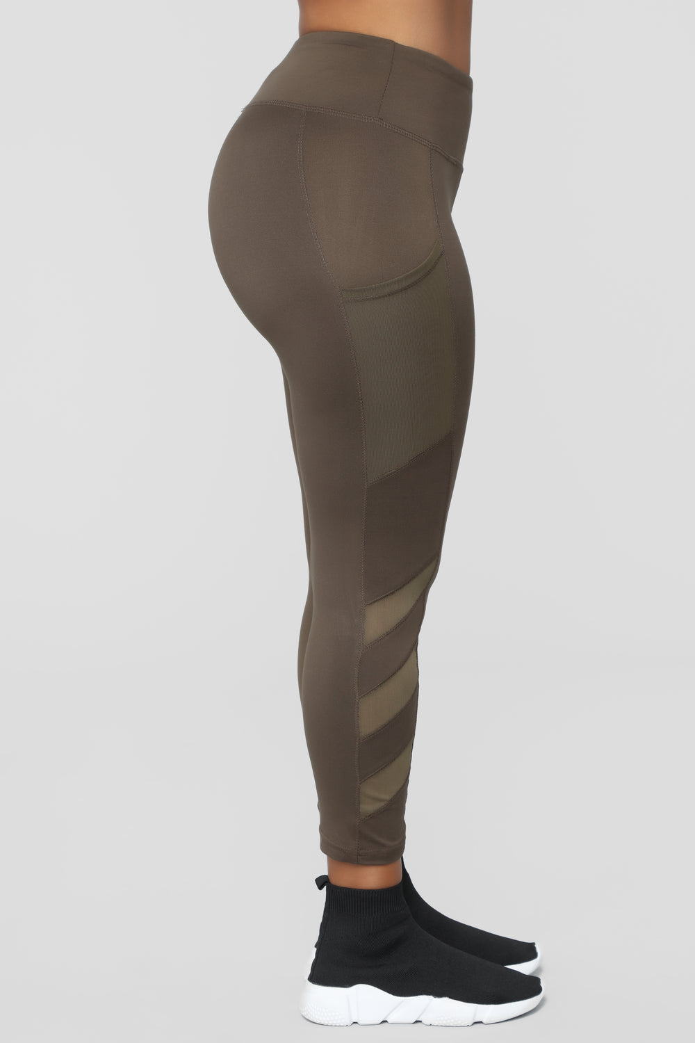 Can't Stop Me Leggings - Olive