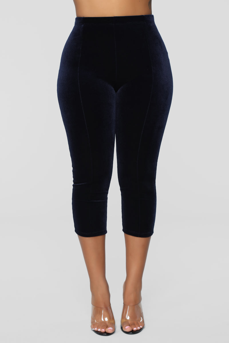 Step Into The Spotlight Pant Set - Navy/Black