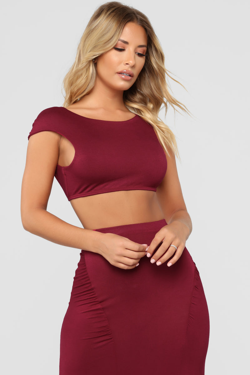 Designed To Please Set - Burgundy