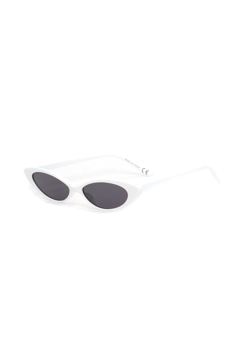 Soft And Gentle Sunglasses - White