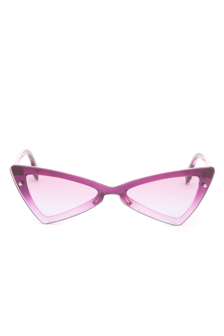 Sunkissed Sensation Sunglasses - Purple