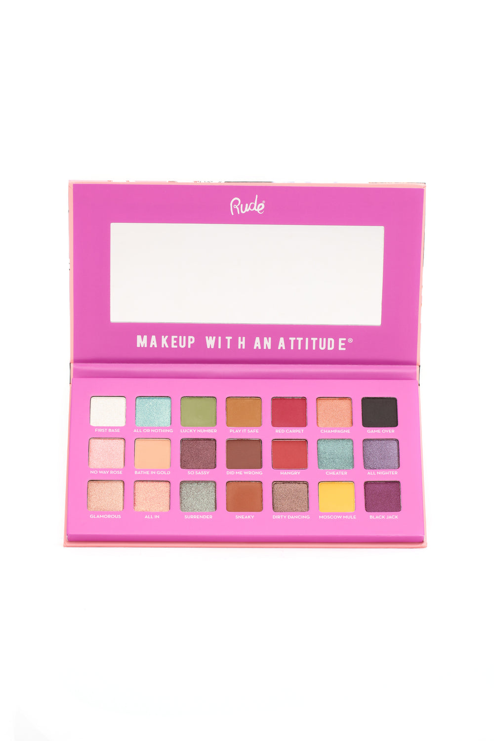 Rude Cosmetics Blackjack 21 Eyeshadow Palette - Badgirl