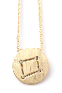 Libra Star Power Necklace - Gold