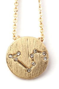 Leo Star Power Necklace - Gold