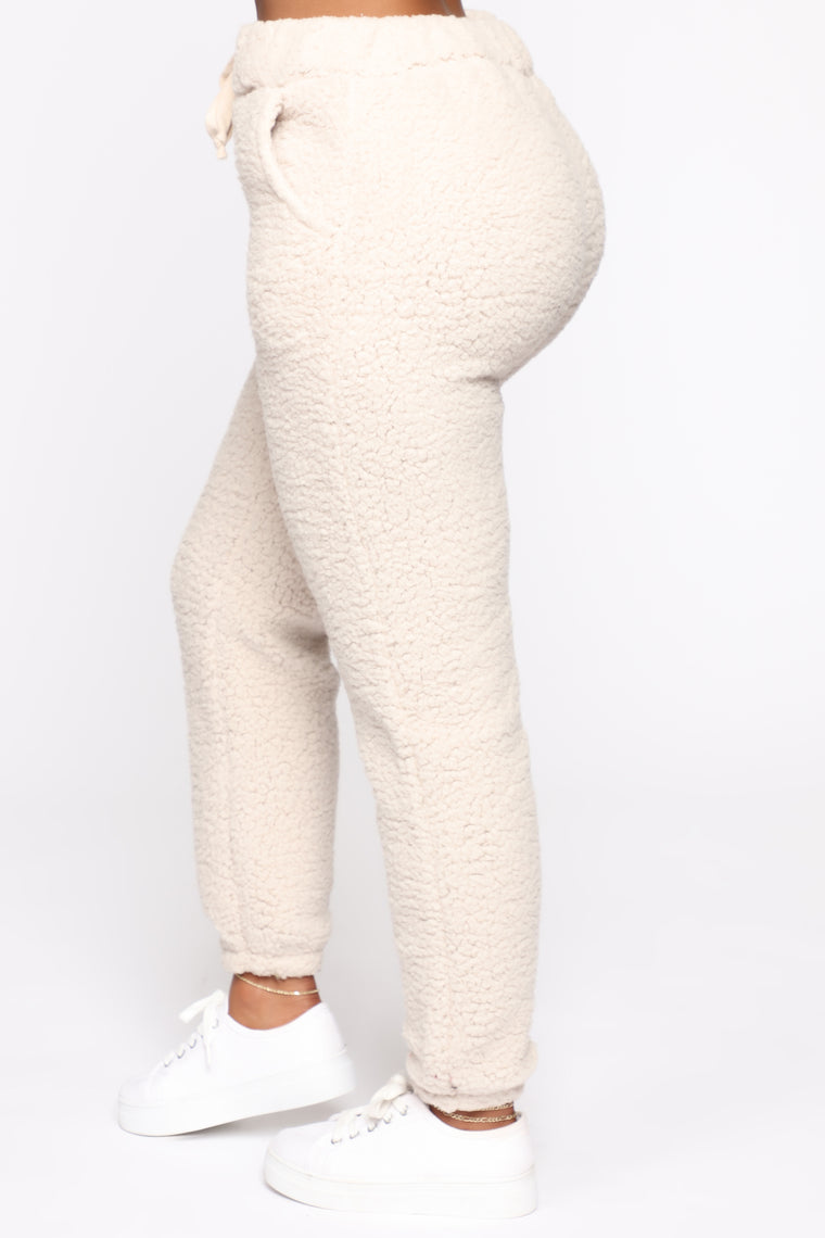 Cuddle Bear Sherpa Set - Beige