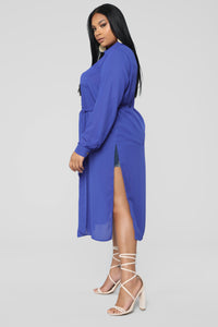 Marybel II Longline Shirt - Royal Angle 7