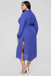 Marybel II Longline Shirt - Royal Angle 10