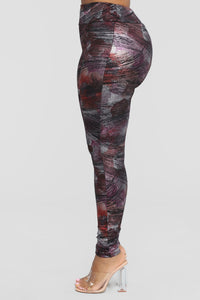 I'll Be Your Canvas Leggings - Multi