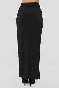 What Do You Think Skirt - Black