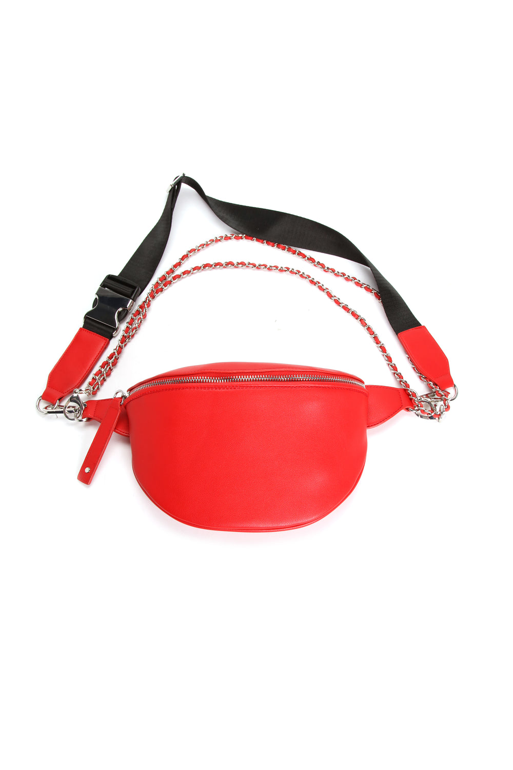 Chain In Personality Fanny Pack - Red