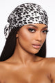 All I Ever Wanted Head Scarf - Black/White