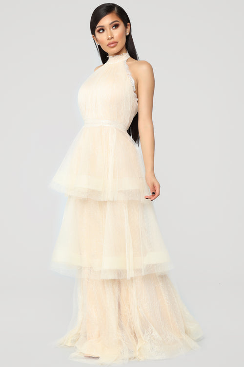 Maxi dresses shes a keeper tulle dress ivory mightylinksfo