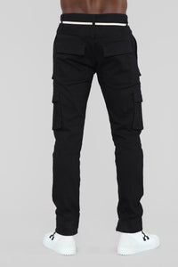 Hunter Cargo Pants - Black