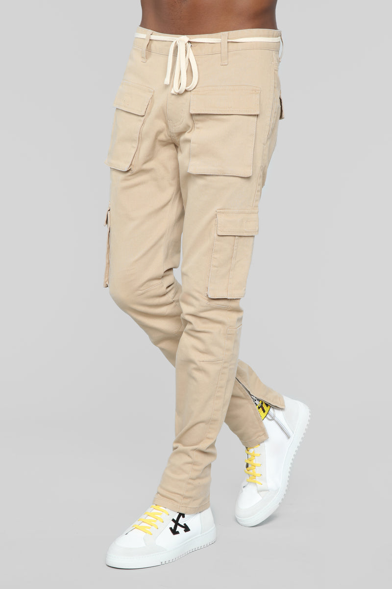 Hunter Cargo Pants - Khaki