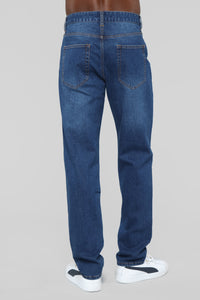 Mike Relaxed Jeans - Dark Wash
