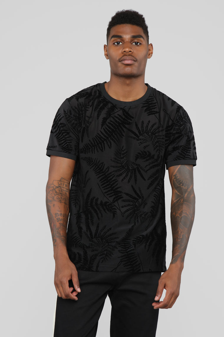 Chillin' Short Sleeve Tee - Black