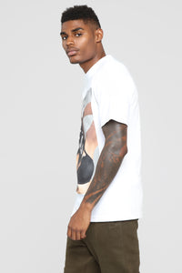 Paisley Dreams Short Sleeve Crew Tee - White