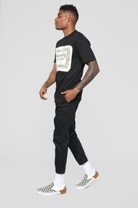 Hennything Is Possible Short Sleeve Crew Tee - Black