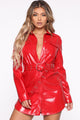 Danger Zone Mini Dress - Red