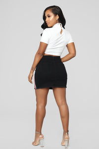 Try Again II Mini Skirt - Black
