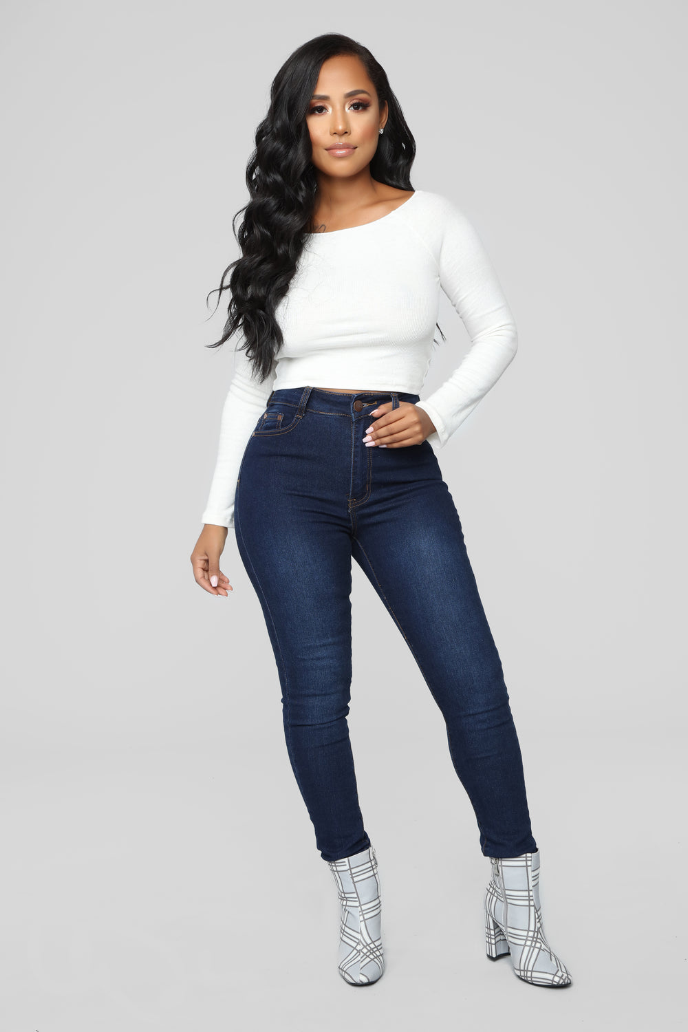 My Favorite Off Shoulder Top - Soft White