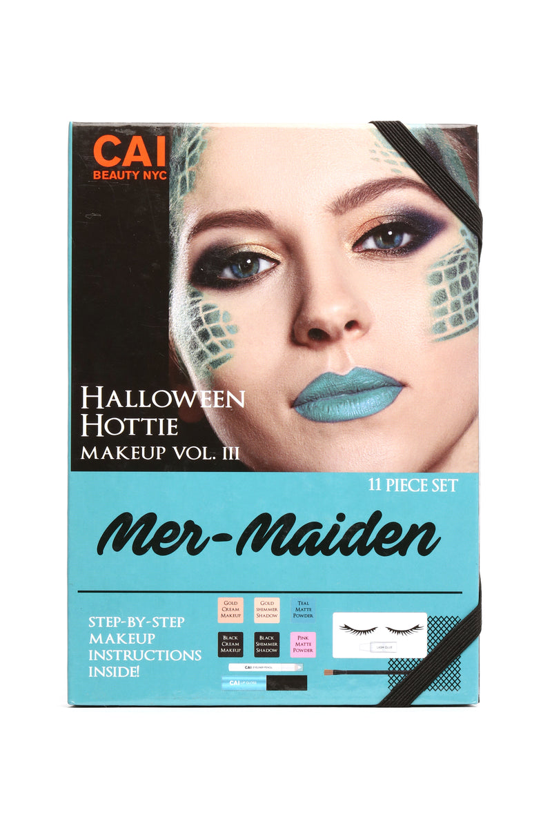halloween hottie makeup mermaiden multi