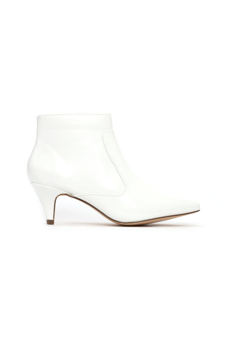 All My Trust Booties - White