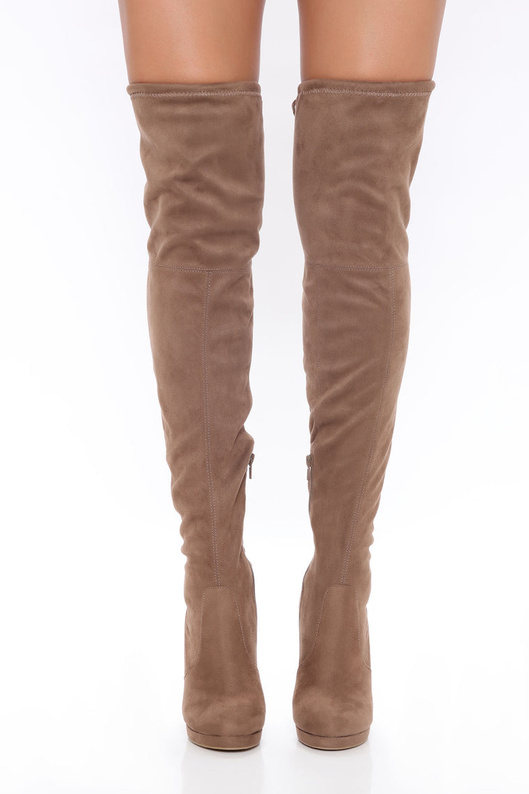 Distracting You Over The Knee Boots